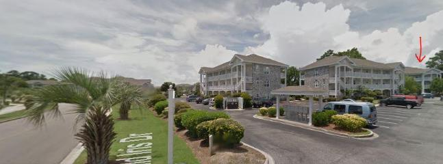 Google street image for entry parking area