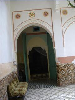 Entry of one of the bedrooms
