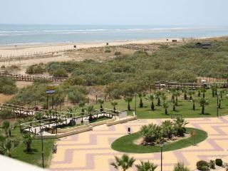 Vistas reales desde la terraza, se divisa toda la playa