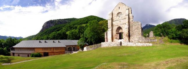 Visit the Abbey in Saint Jean D'Aulps