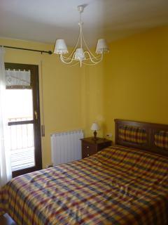 Habitacion Principal cama 1,50 y acceso terraza