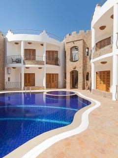 Luxury Apartments in Dahab, heated pool, jacuzzi