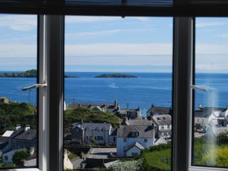 Sea views from both upstairs bedrooms.