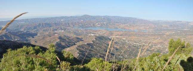 Vistas desde Parque Natural Sierra Tejeda, Alhama y Almijara