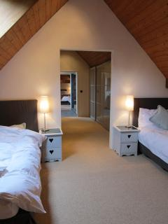 Twin Bedroom, upper level