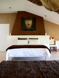 1st floor bedroom (the master suite)