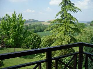 Stunning view from one of the bedrooms