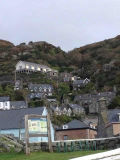 Houses on The Rock in Barmouth