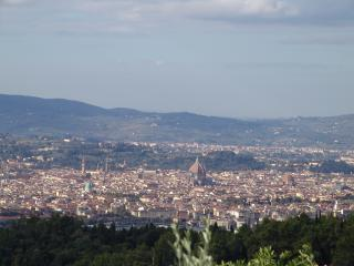 view on the most famous monuments of Florence