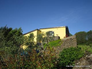 Villa Etna-character house:Mt.Etna view + vineyard