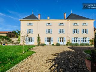 Le Chateau de Moire, our beautiful family home in the Beaujolais.