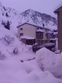 nuestro pueblo en invierno