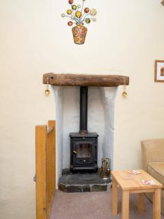 Log burner for any cooler evenings