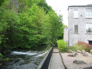 A view of the river beside the mill