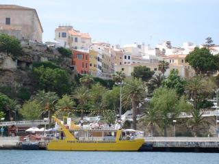 Casa con encanto y vistas al puerto para 4 personas en Maó