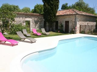 Relax and enjoy the sun on your south facing terrace with pool