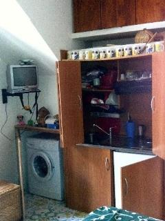 TV and washing machine