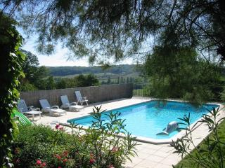 Large Country Cottage own Private Gardens and Pool, Duras