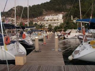 Yat Classic Hotel private pontoon, Fethiye