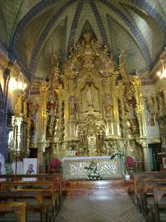 altar mayor del siglo XVII
