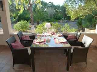 Enjoy breakfast, lunch or dinner on covered terace