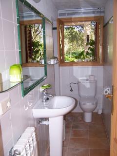 one bathroom