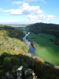 View towards Ross on Wye from Yat Rock