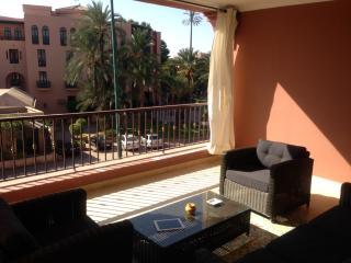 View of Tichka Hotel from main balcony