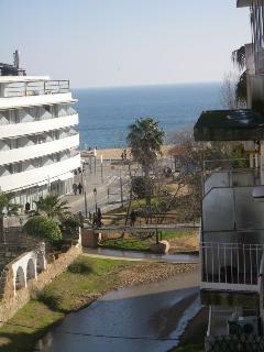 Vista al exterior lado mar