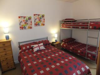 Double bed and bunk beds available