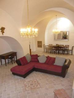 Masseria Cuore living room.