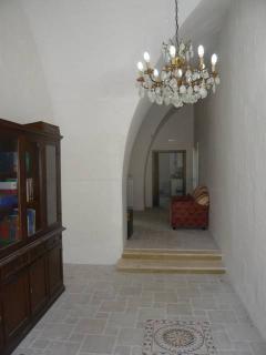 Masseria entrance to the Cuore.