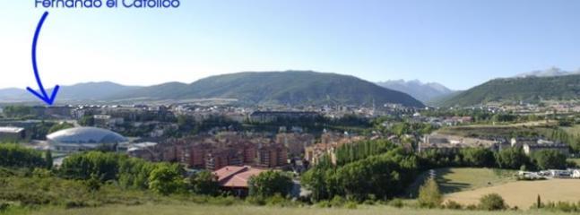 Localizacion Apartamento abuhardillado Fernando el Católico