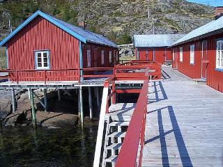 The fisherman cabin 'Rorbu' from the outside