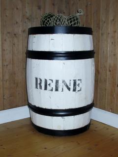 Old fishing barrel
