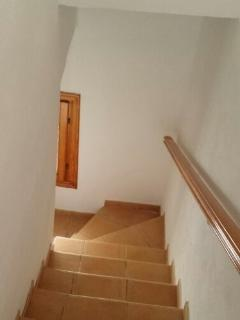 stairs to basement bedroom