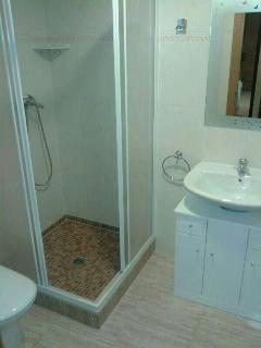 Baño comun del apartamento.