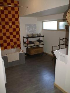Salle de bain de 13 m2