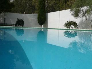 Villa con piscina privada,  1000 m2 jardines e internet cerca de Sevilla