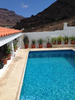 piscina exterior privada