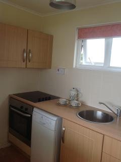 New fitted kitchen with dishwasher so no washing up, just load it and go enjoy yourself