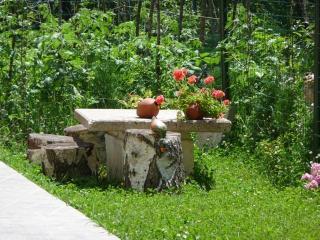 The pretty picnic area