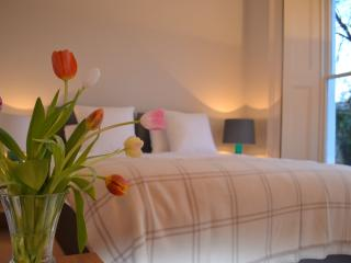 Ground Floor Super Kingsize Bedroom which splits into two singles