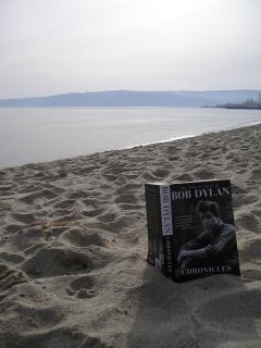 December 2008, Varna beach, with Bob Dylan!