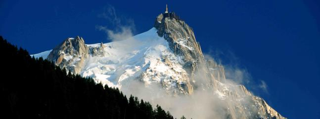 Aiguille du midi - take a cablecar all the way to the top
