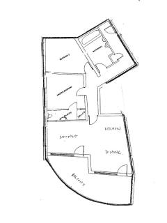 Floor plan - 900 sq ft