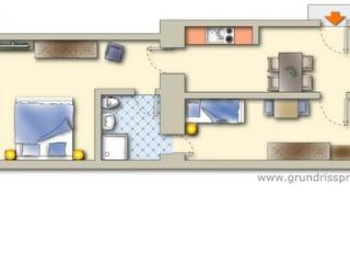 Lovely fully equipped apartment - 2173