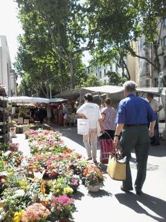 le marché Ste Blandine
