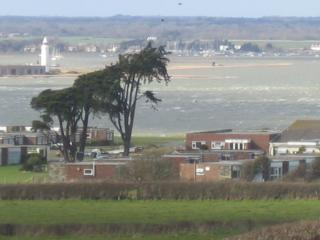 Stuning views of Hurst Castle from 3 Bedrooms