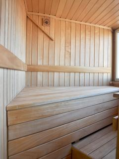 Our Finnish sauna ...